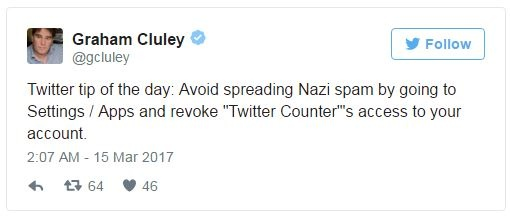 Cyber Expert Graham Cluley's Twitter Hacked with Nazi Spam