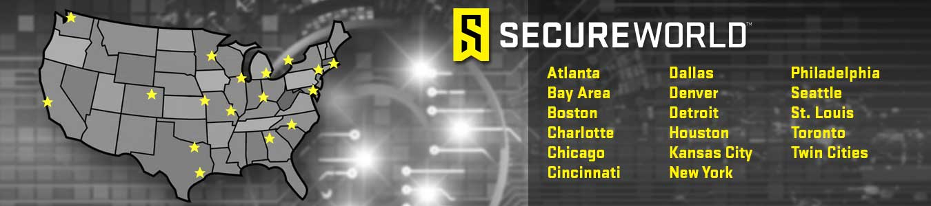 SecureWorld 2019 Event Schedule and Map
