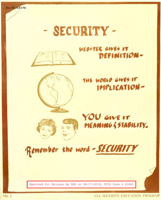 10 Security Awareness Posters You've Never Seen Before