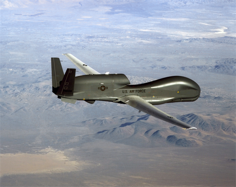 RQ-4 Global Hawk-Drone-Air Force Photo
