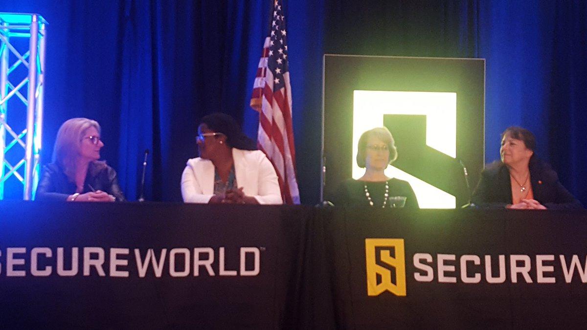 Women in Security ISSA panelists