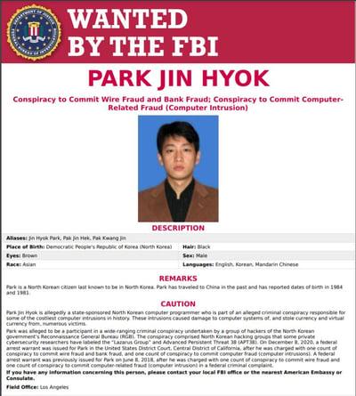 north-korean-hacker-wanted-poster-park-jin